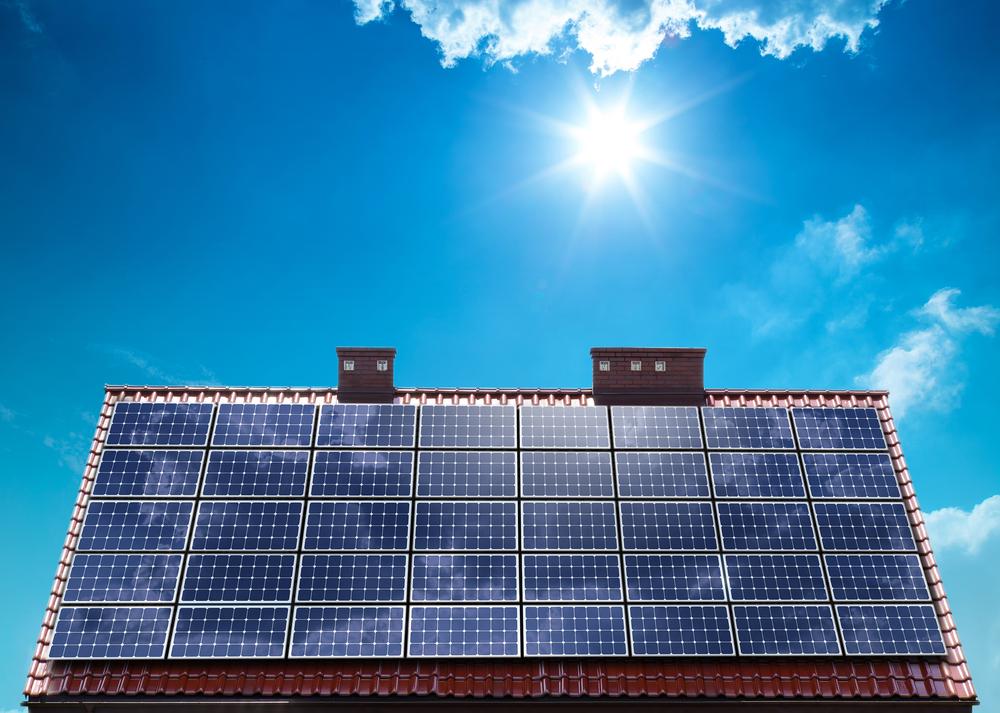 solceller anlæg på hus