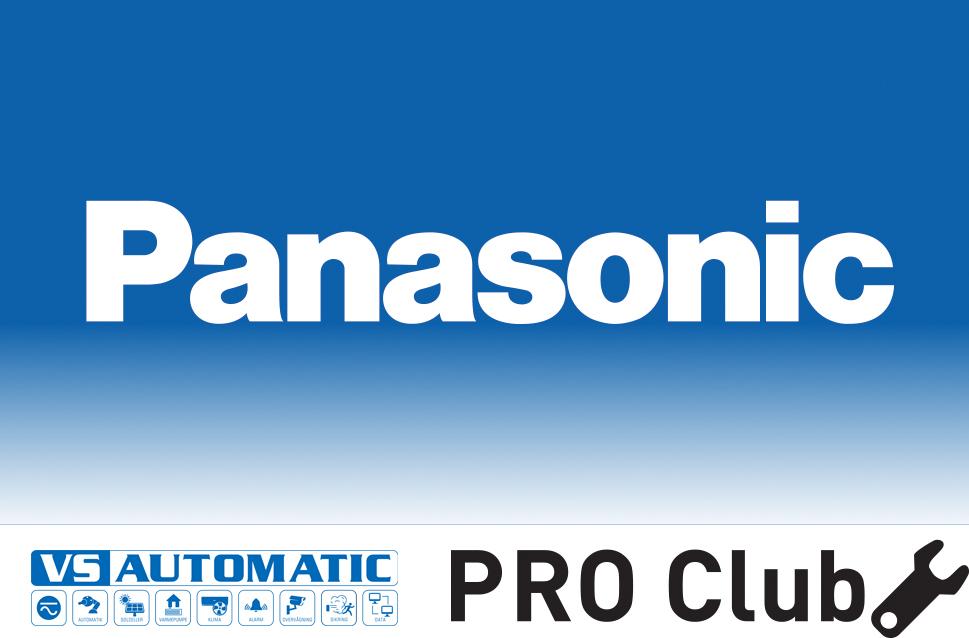 Panasonic pro club og vs-automatic