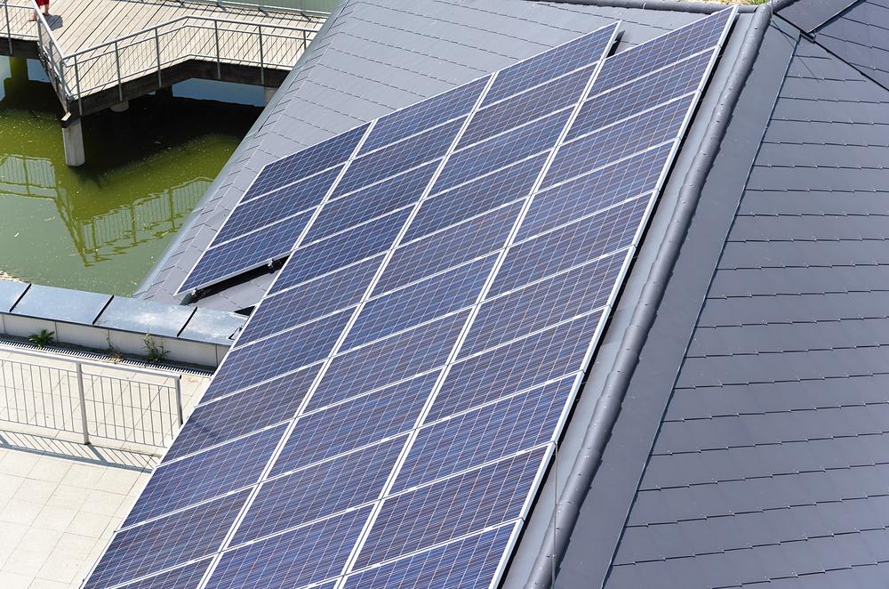 Solceller på tag - Grøn boligforening