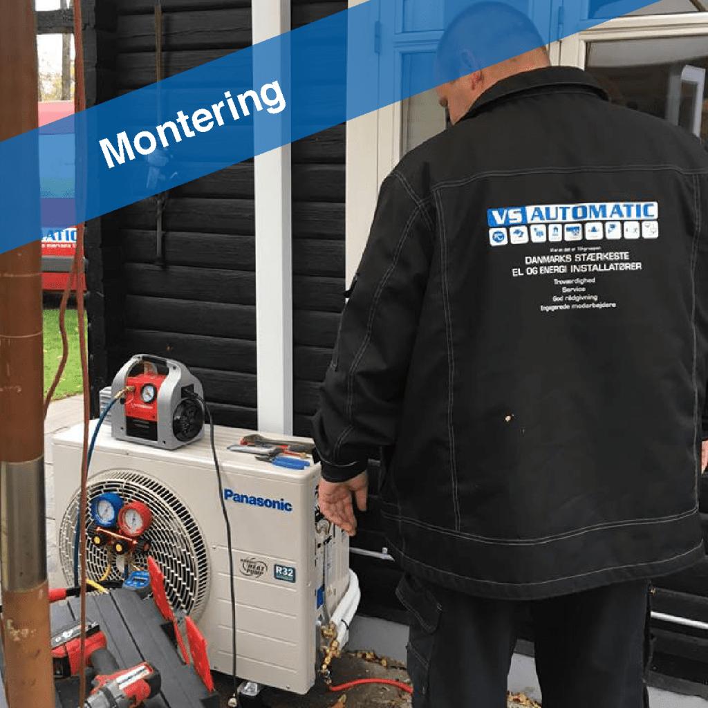 varmepumpe-montering