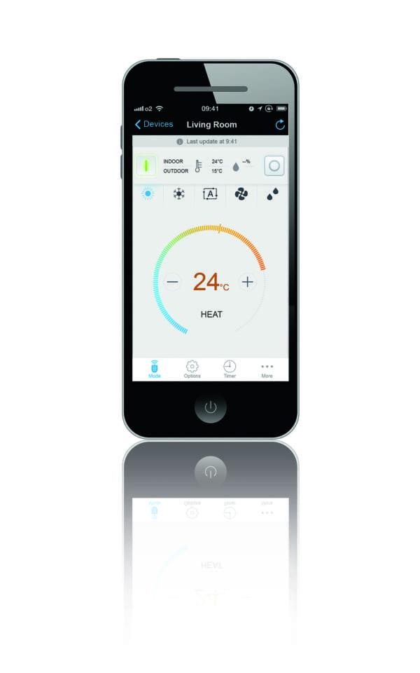 Daikin varmepumpe app