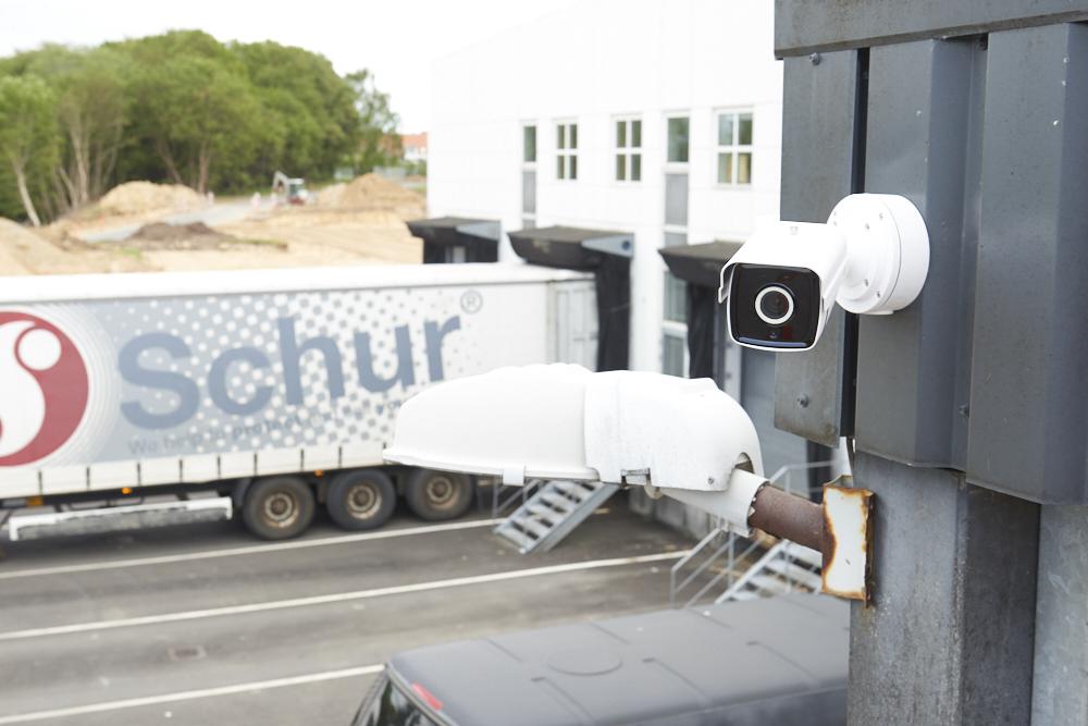 Abus overvågning hos Schur packing