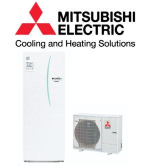 Mitsubishi luft til vand varmepumpe