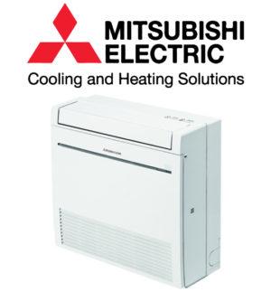 Mitsubishi varmepumpe gulvmodel