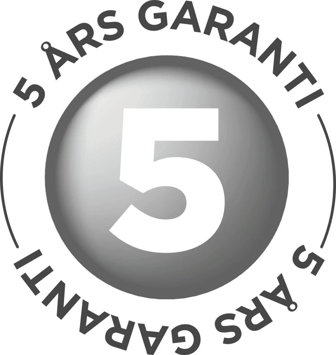 solamagic 5 års garanti
