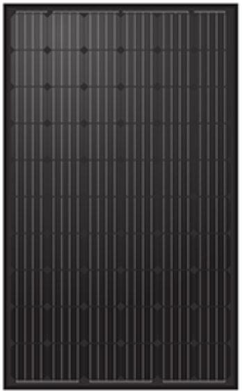 Monokrystallinsk solcelle 300 watt