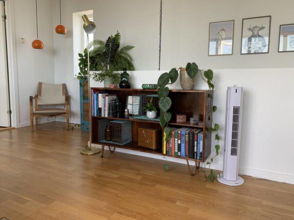 TRISTAR tårn ventilator i stue