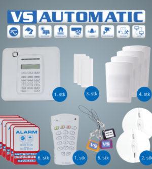 VS Automatic Alarmpakke Sølv
