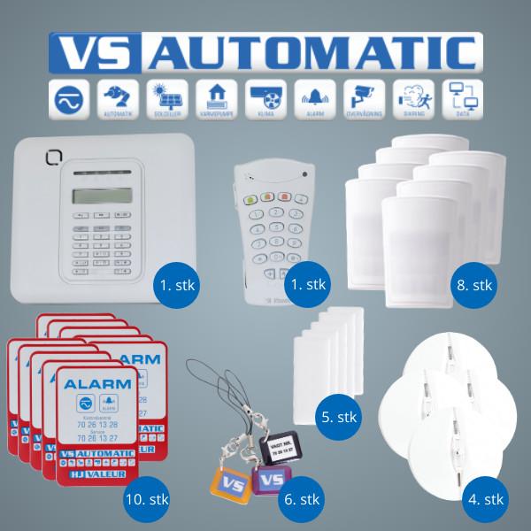 VS Automatic Alarmpakke guld