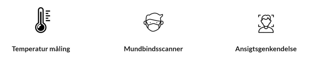 Ikoner for ansigtsscanner