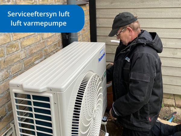 Serviceeftersyn luft til luft varmpumpe - VS Automatic