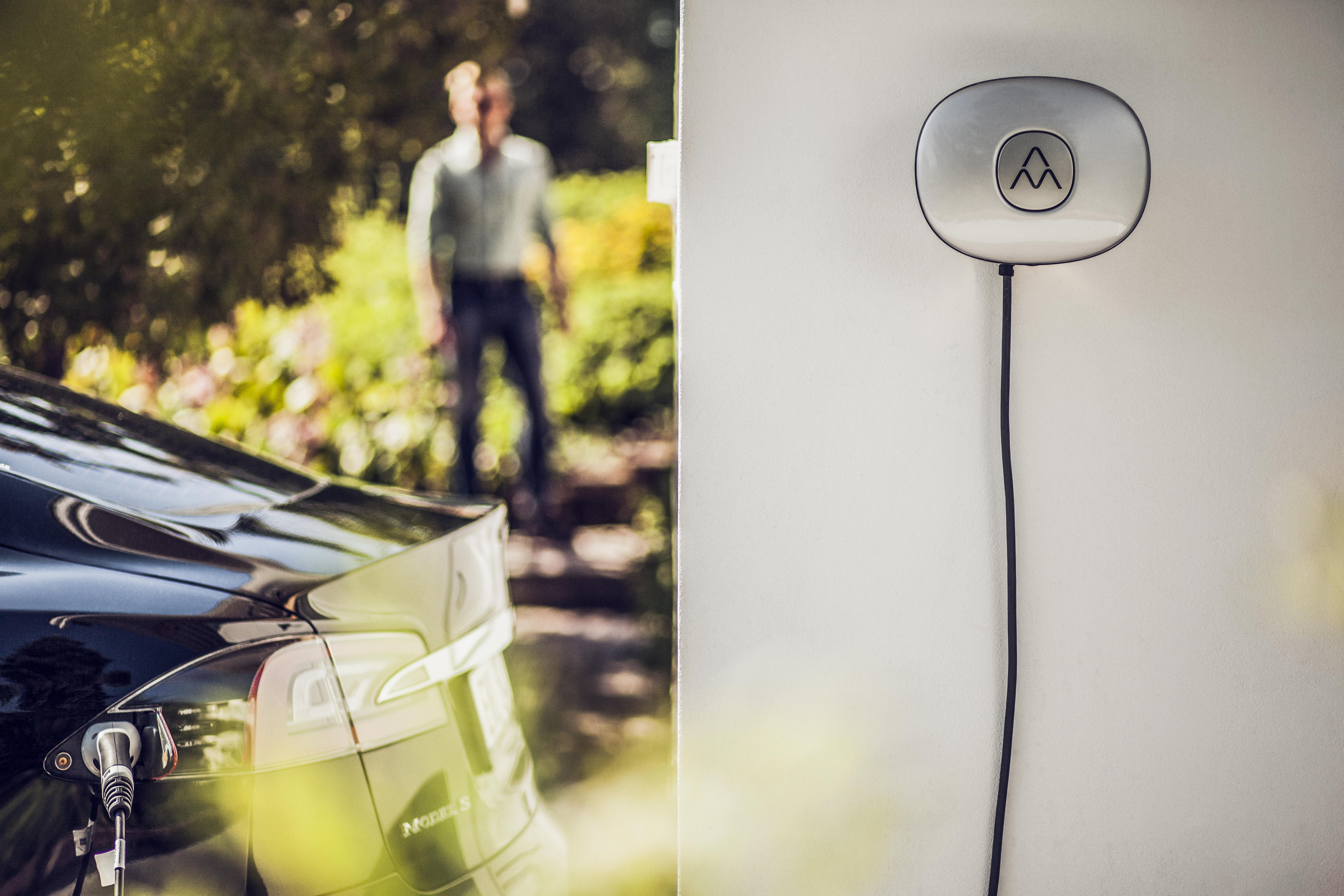 Ladestander til elbil hjemme fra charge amps