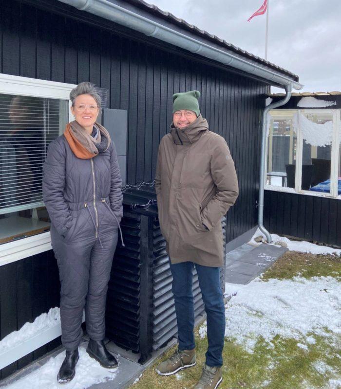 Helle Østergård Varmepumpe historie VS Automatic