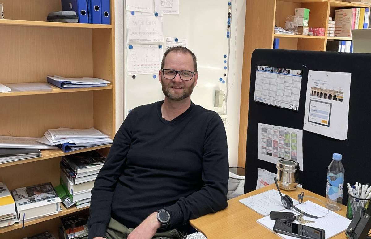 Tomas projektleder i VS din lokale elektriker i Midtjylland