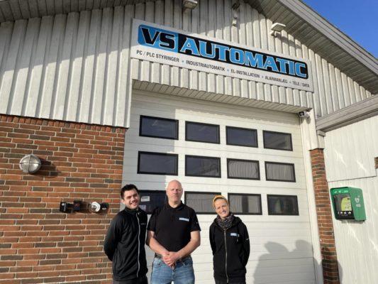 VS Automatic din lokale elektriker medarbejdere