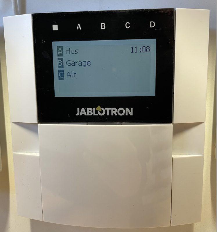 høj sikkerhed med en simpel alarm og overvågning alarm
