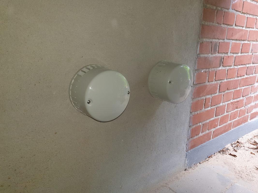 Udedel ventilation i boligen