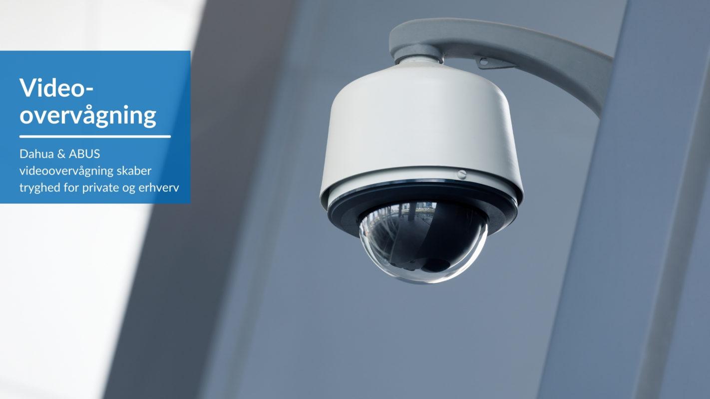 Videoovervågning skaber tryghed